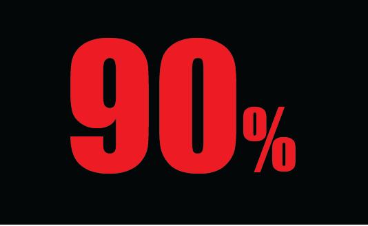 90-percent